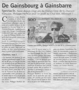 Presse Gainsb 3
